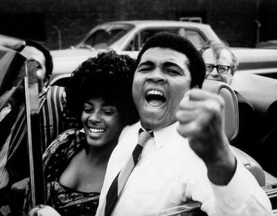 Celebrity Portrait Photography:  Muhammad Ali with Sonji Roi by Classic Collection I