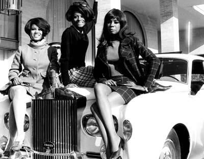 figurative art:  Diana Ross and The Supremes by Classic Collection I