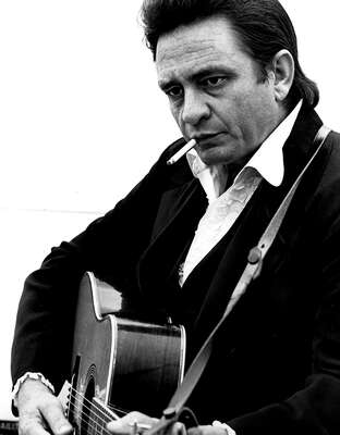 figurative art:  Johnny Cash by Classic Collection I