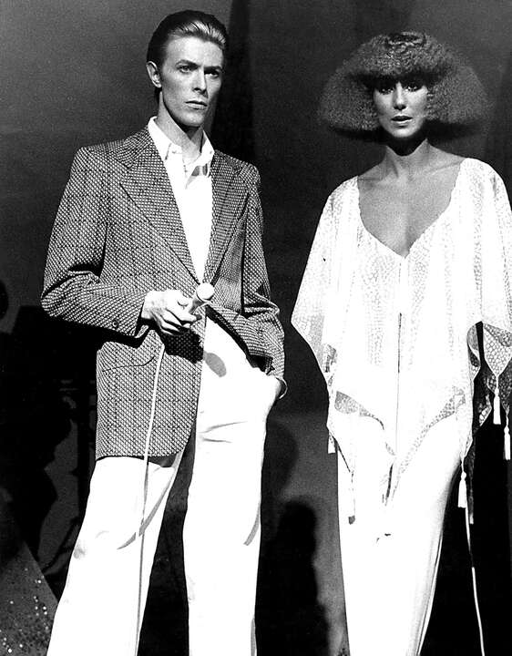 Cher and David Bowie by Classic Collection I