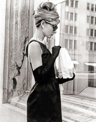 Audrey Hepburn in Breakfast at Tiffany's by Classic Collection I