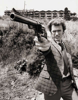 Celebrity Portrait Photography:  Clint Eastwood as Dirty Harry by Classic Collection I