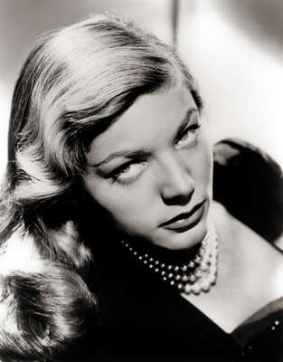 Celebrity Portrait Photography:  Lauren Bacall as Marie Browning by Classic Collection I
