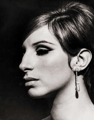 Celebrity Portrait Photography:  Barbara Streisand by Classic Collection I