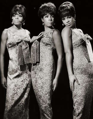 Celebrity Portrait Photography:  The Supremes by Classic Collection I