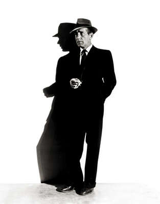 Celebrity Portrait Photography:  Humphrey Bogart by Classic Collection I