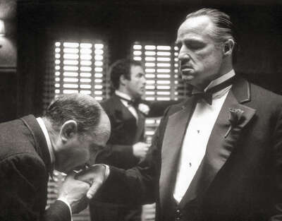 Marlon Brando in The Godfather II by Classic Collection I