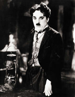 Celebrity Portrait Photography:  Charlie Chaplin in The Gold Rush by Classic Collection I