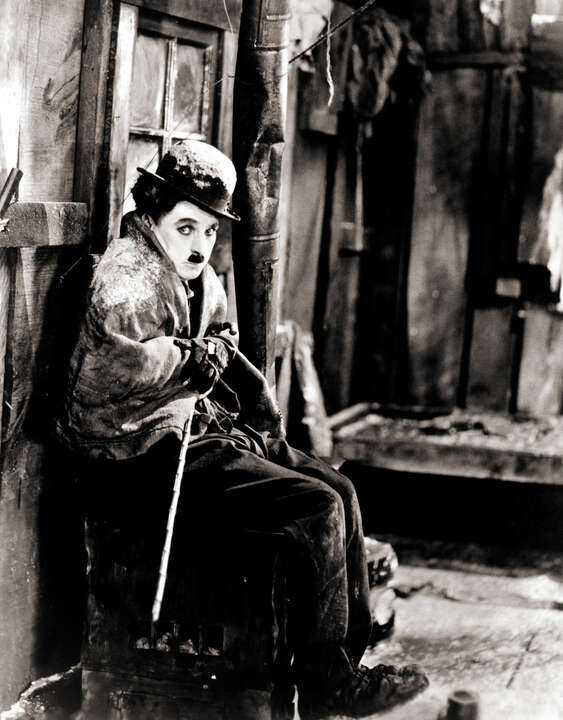Charlie Chaplin in The Gold Rush II by Classic Collection I