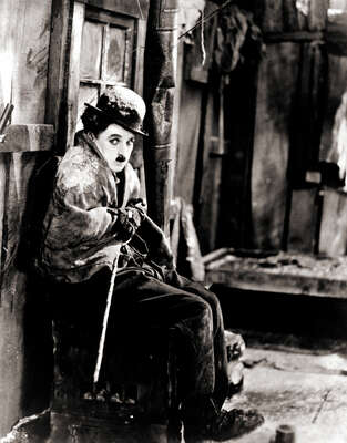 Celebrity Portrait Photography:  Charlie Chaplin in The Gold Rush II by Classic Collection I