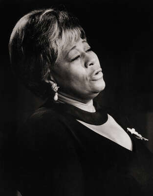 Celebrity Portrait Photography:  Ella Fitzgerald on Stage by Classic Collection I