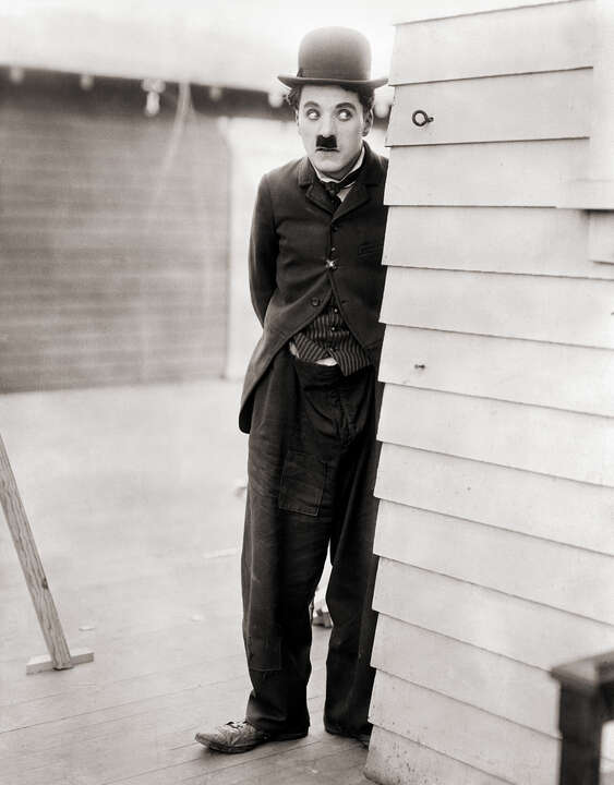 Charlie Chaplin in City Lights by Classic Collection I