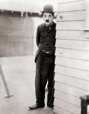 Celebrity Portrait Photography:  Charlie Chaplin in City Lights by Classic Collection I