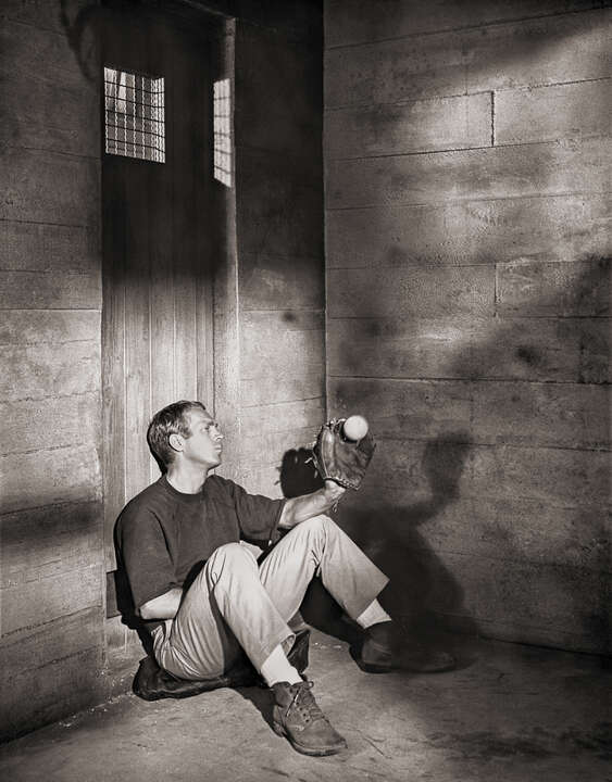 Steve McQueen in The Great Escape von Classic Collection I
