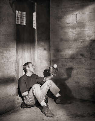 Celebrity Portrait Photography:  Steve McQueen in The Great Escape by Classic Collection I