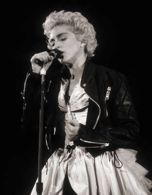 Celebrity Portrait Photography:  Madonna on Stage by Classic Collection I