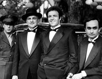 Celebrity Portrait Photography:  The Godfather: Michael, Don Vito, Sonny & Fredo by Classic Collection I