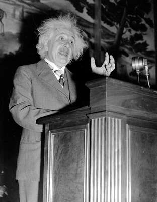 Albert Einstein von Classic Collection I