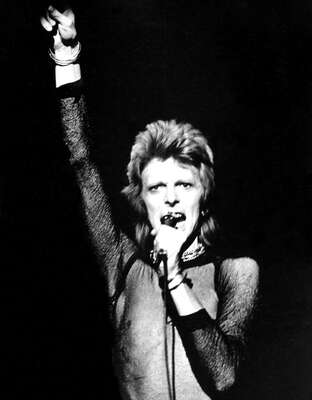 figurative art:  Ziggy Stardust on Stage by Classic Collection I