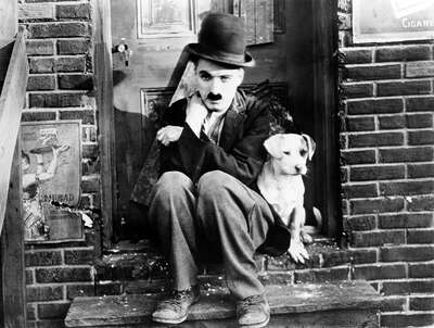 Charlie Chaplin as The Tramp by Classic Collection Ii