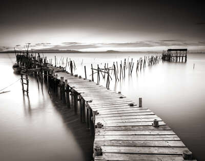 Peaceful Pier by Classic Collection Ill