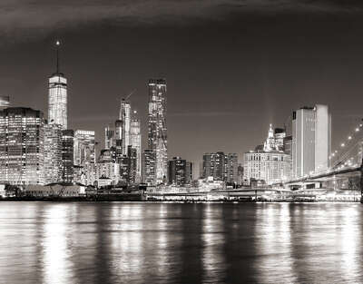 New York City at Night by Classic Collection Ill