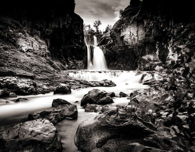 White River Falls by Classic Collection Ill