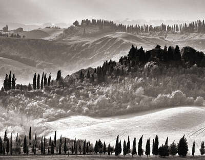 Tuscan Landscape by Classic Collection Ill