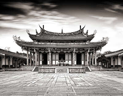 Confucius Temple by Classic Collection Ill