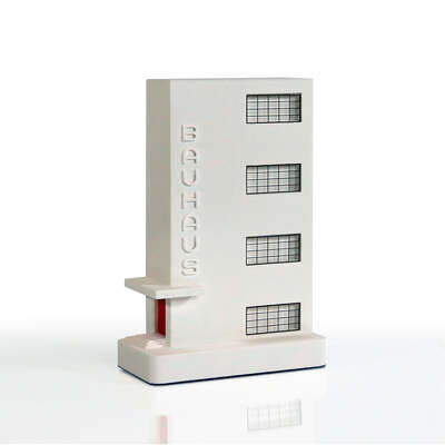 curated Bauhaus artwork: Bauhaus Dessau Stairblock by Chisel & Mouse