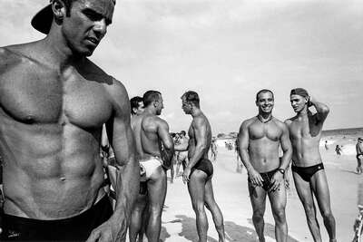 nude photography:  Posto 9, Ipanema by Christopher Pillitz