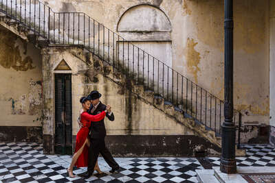 figurative art:  Tango - The last Dance I by Christopher Pillitz