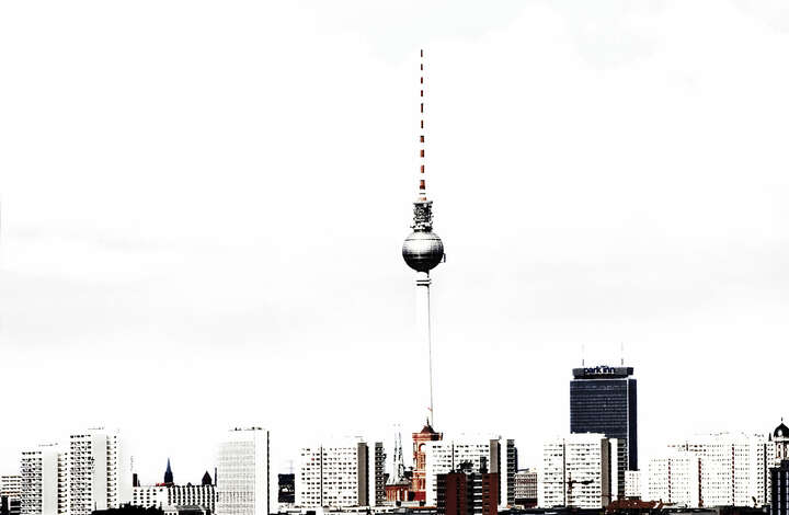 Berlin Skyline de Cathrin Schulz