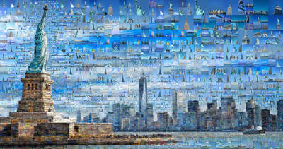 New York Bilder: Our New York I von Charis Tsevis