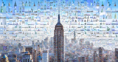 Lumas bestselling prints:  Our New York II by Charis Tsevis