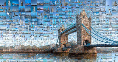 Curated Lumas Architecture Prints: Our London II by Charis Tsevis