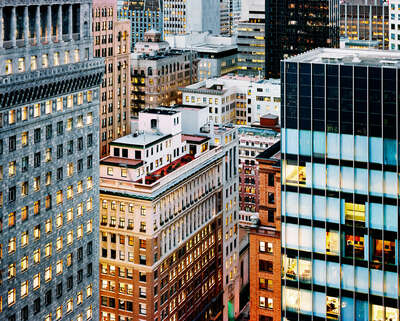 Gifts under €650: Sutter Street & Sansome Street, San Francisco by Christopher Woodcock