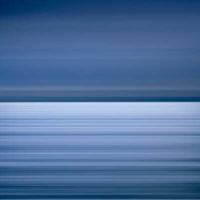 Curated blue artworks: Pacific Ocean Kashima, Japan by David Burdeny