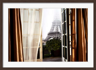 City Wall Art  Escape to Paris by David Drebin