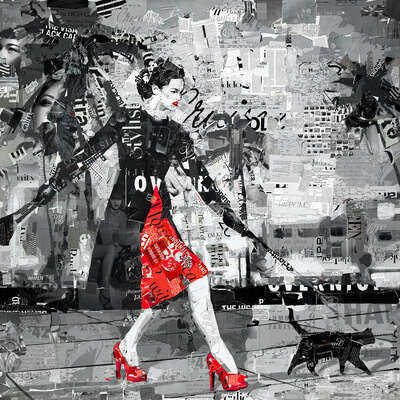 My Turn on the Catwalk von Derek Gores