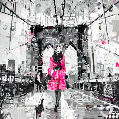 Fashion Wall Art:  Where To Be by Derek Gores