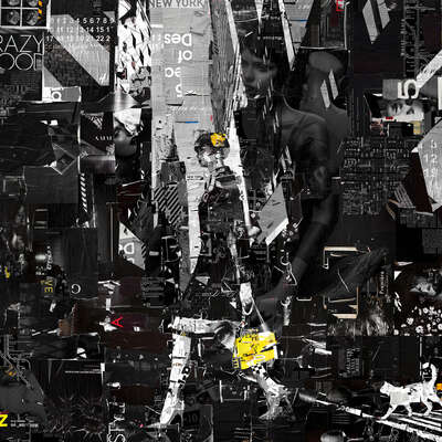 Black and White Prints: Uptown Playground by Derek Gores