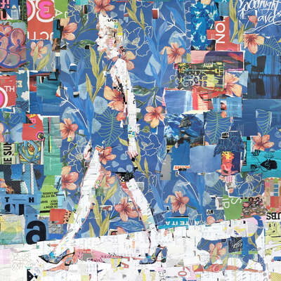 wall art wildlife prints animals  Springtime Catwalk by Derek Gores