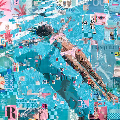 figurative art:  Sea of Tranquility by Derek Gores