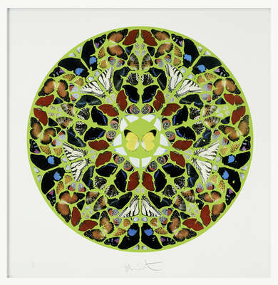 Psalm - Print - Domini est terra by Damien Hirst