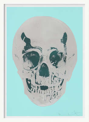 Till Death Do Us Part - Heavenly - Peppermint Green Silver Gloss Racing Green by Damien Hirst