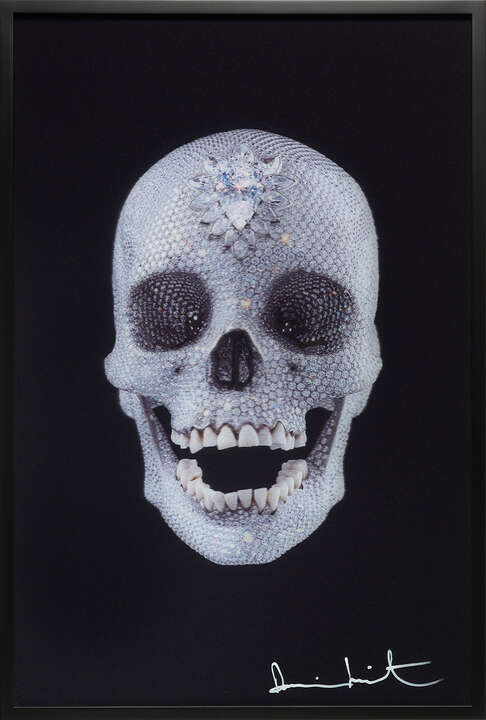 For the Love of God - Lenticular by Damien Hirst