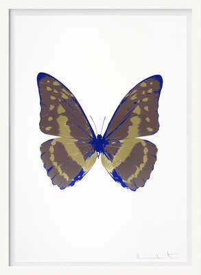 The Souls III - Gunmetal Cool Gold Westminster Blue    von Damien Hirst