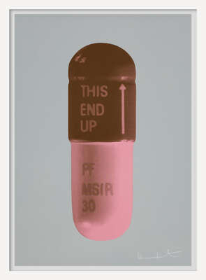 The Cure - Frigate/Chocolate/Rose Pink von Damien Hirst