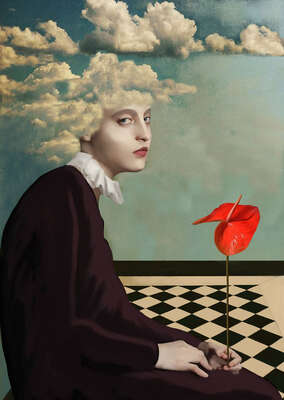 Loneliness of an anthurium von Daria Petrilli